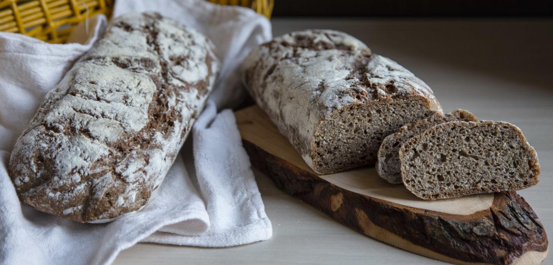 Pane di Segale - Grano Iermano e Frumento integrale