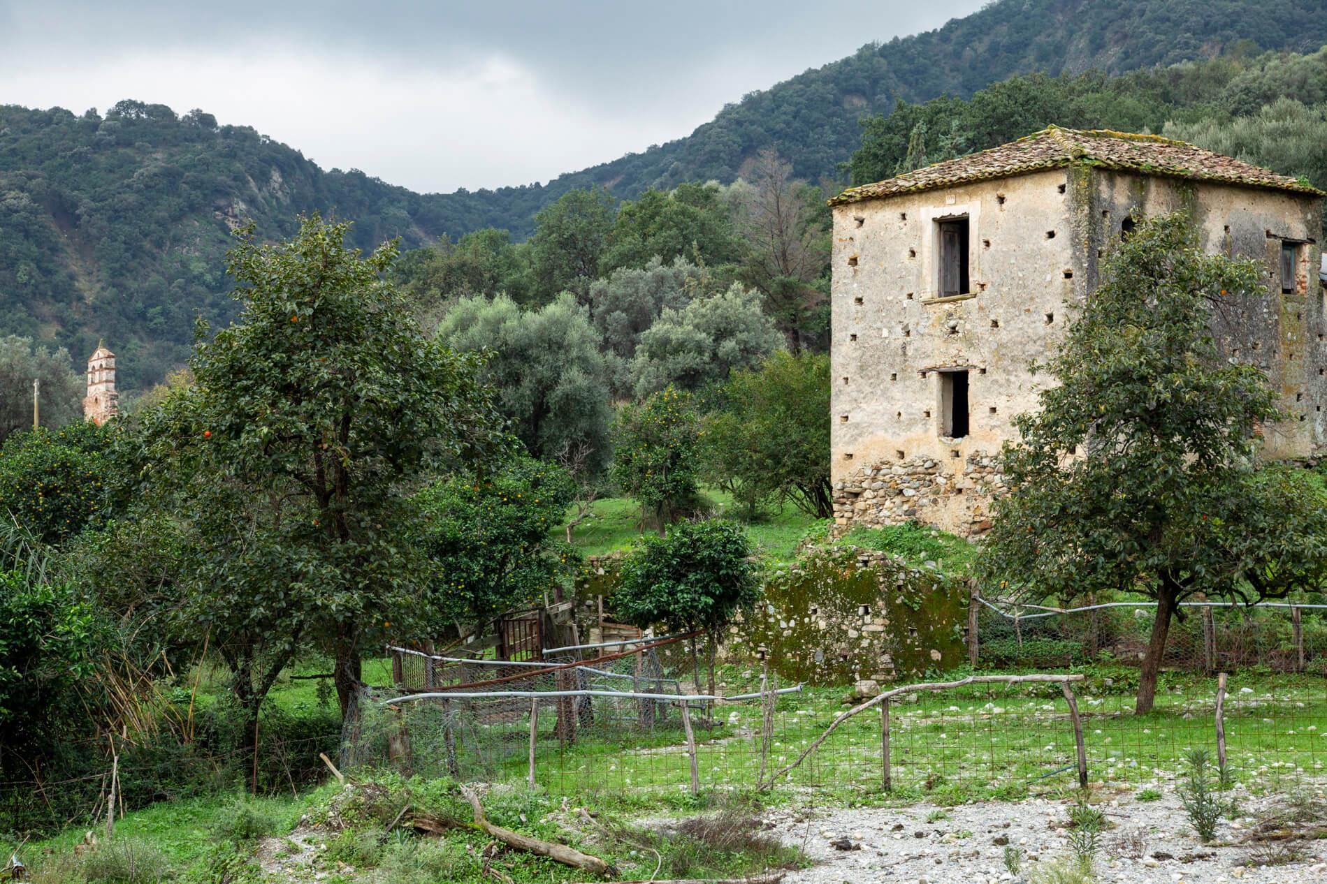 Casolare abbandonato in Aspromonte
