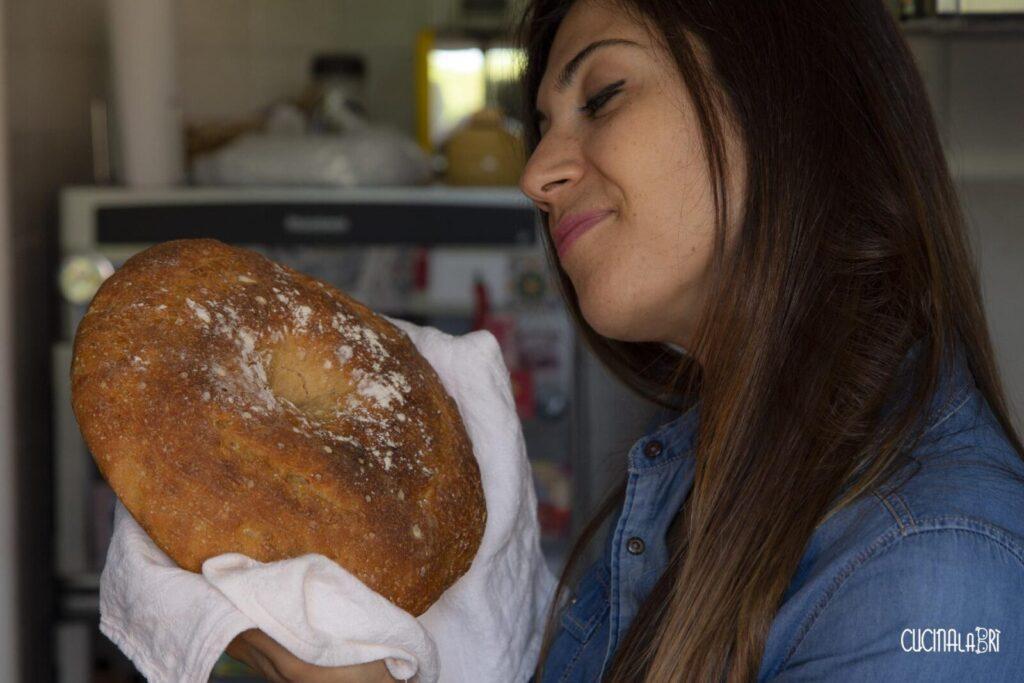Pane di Semola di Grano Duro con Lievito Madre - Cucinalabri