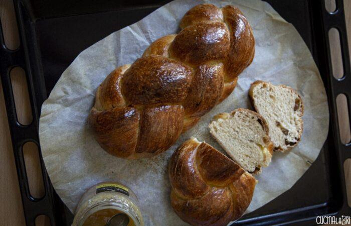 Treccia Svizzera con uvetta - Cucinalabri