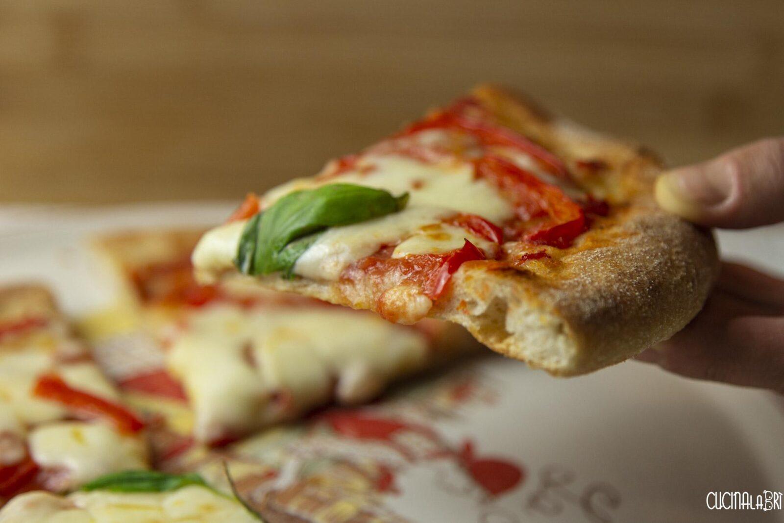 Pizza con Lievito Madre di Cucinalabri