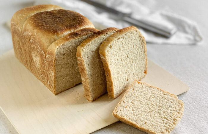 Pancarrè o pane in cassetta con lievito madre